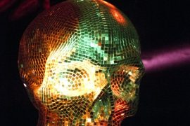 Totenschädel im Keller Klub © 2010 Patrick Grossien